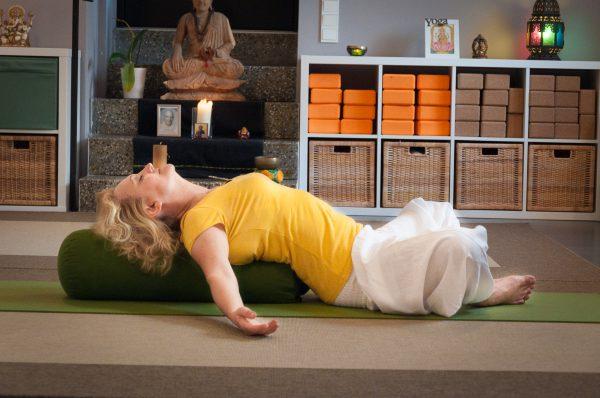 Regeneratives Rücken Yoga